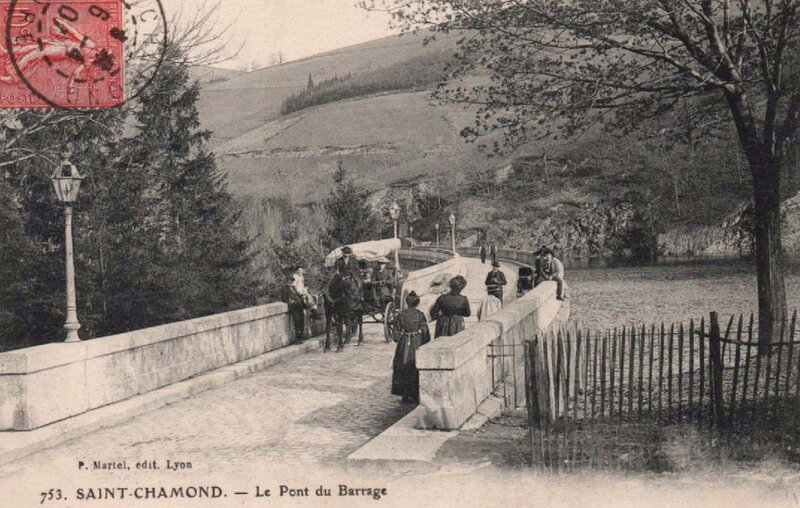 le Pont du Barrage, cpa (3)