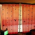 rideau de pompons