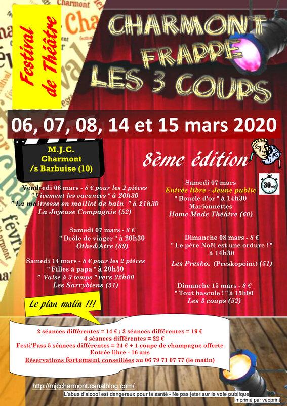 Festival de théâtre amateur - 8ème édition