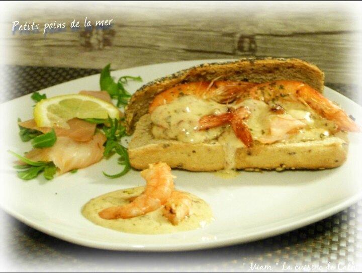 """ღ """" Miam """" Petits pains de la mer"""