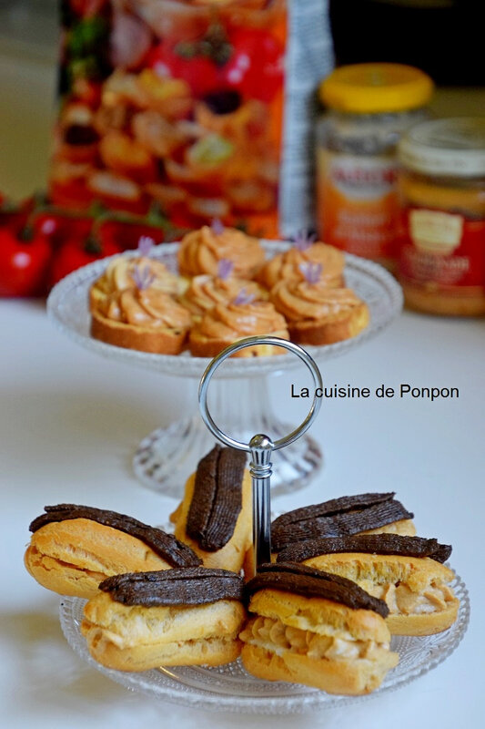 Eclairs thoionade et toast (11)