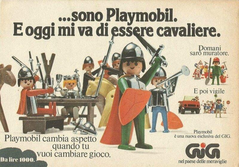 Boîte italienne Playmobil