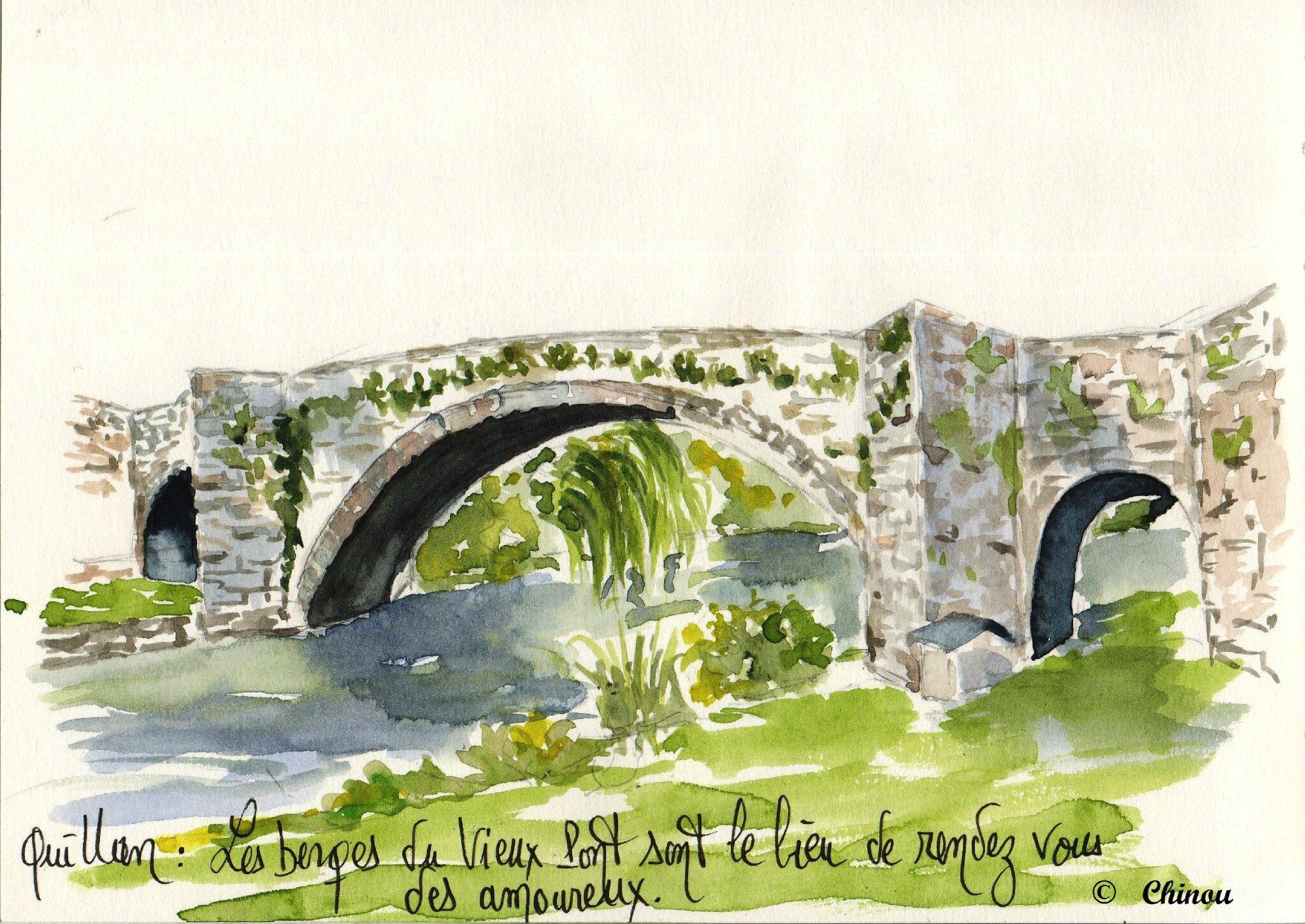 Quillan Pont vieux
