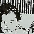 Portrait en sable...