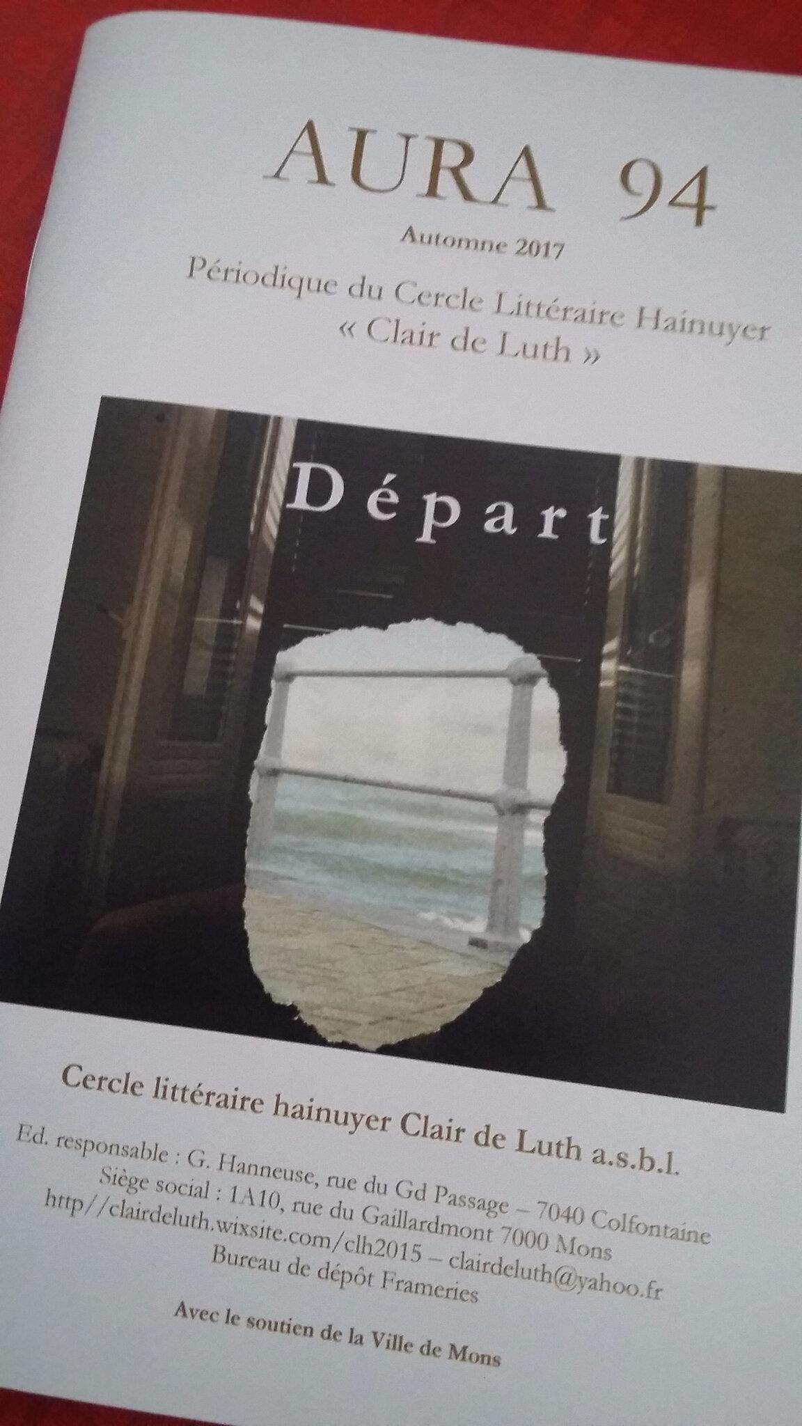 Dans Aura 94, Un départ sans bagage, un texte de C.-L. Desguin