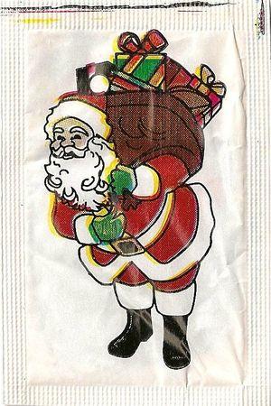 Emballage de sucre Père-Noël 08