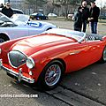 Austin healey 100 roadster (retrorencard mars 2013)