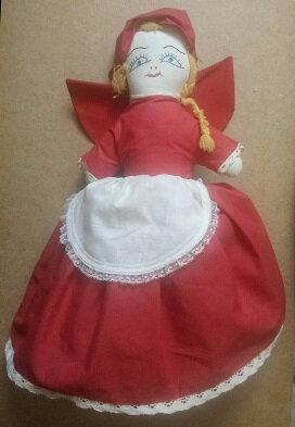 Marionnettes 3 en 1 du petit chaperon rouge .