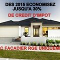 NEWS DEVIS FACADES RGE ITE CREDITIMPOT 34 11 BEZIERS NARBONNE