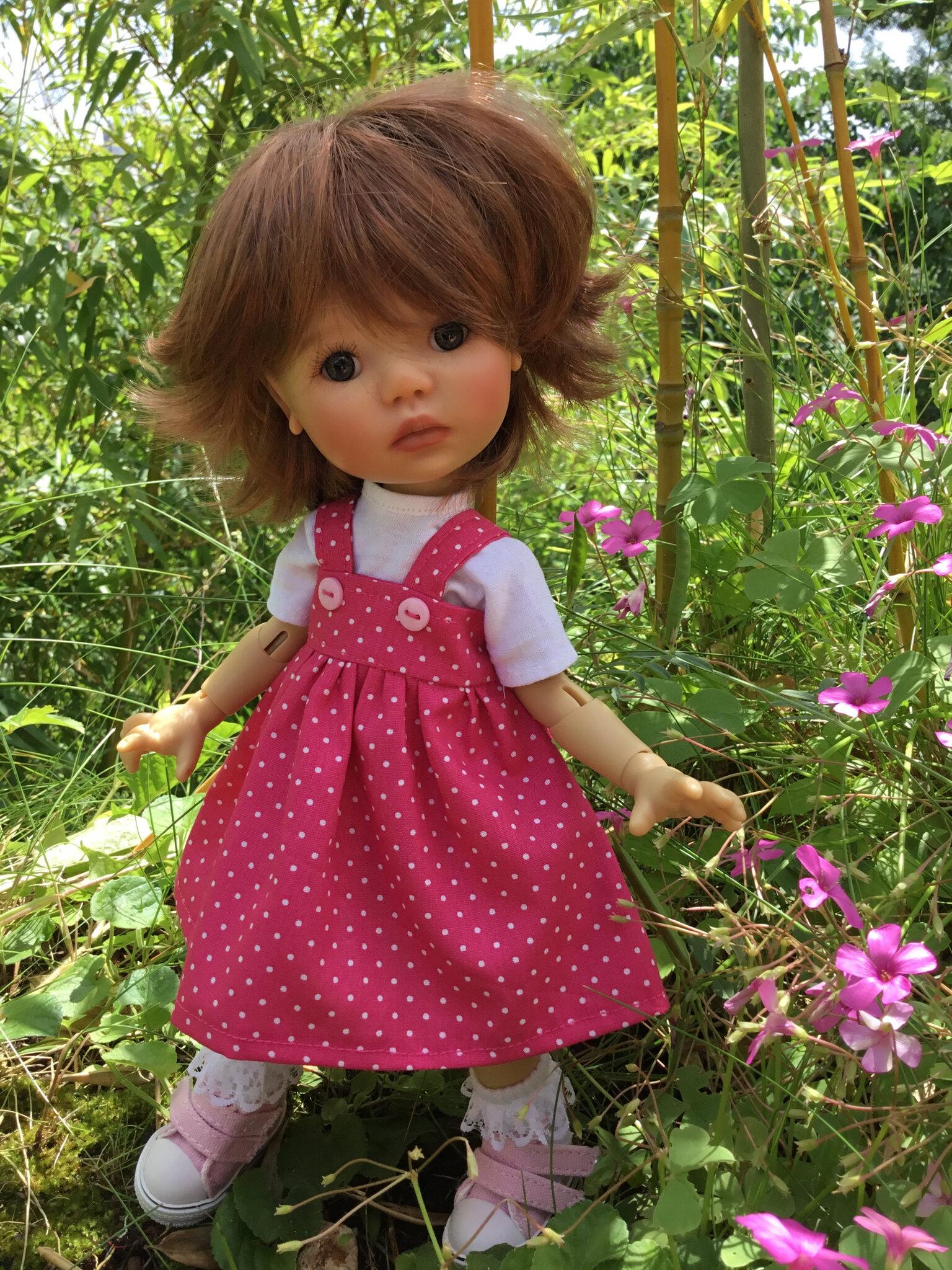 Ensemble t-shirt et robe d'été, rose vif, pour Meadow, disponible, 15 € et 2,70 ( Saffi)