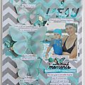 Scrapbooking a4 #176 surprise