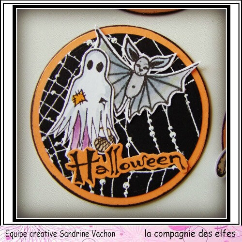 Sandrine VACHON ATC rondes HALLOWEEN dt LCDE (5)