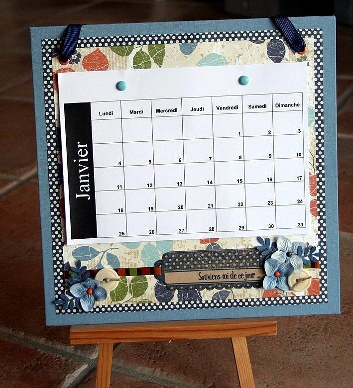 calendrier - 05/01/2010