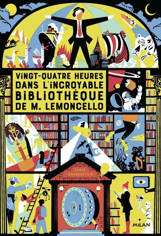Vingt quatre heures dans l'incroyable bibliothèque de M Lemoncello