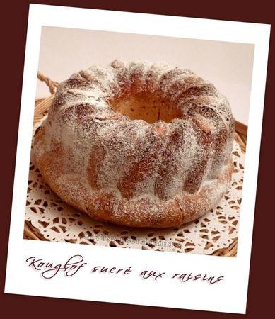 Kouglof sucré aux raisins (27)