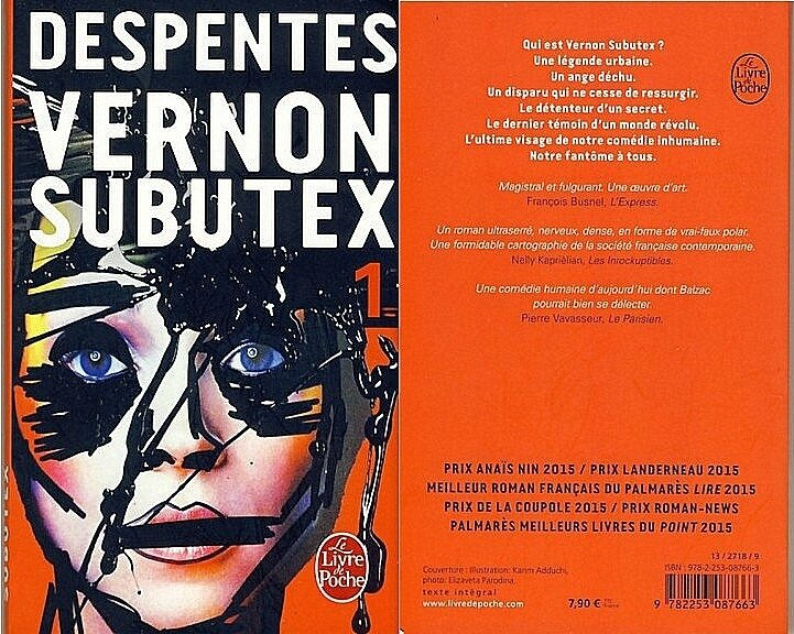 3- Vernon Subutex - Despentes