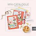 Mini-catalogue été
