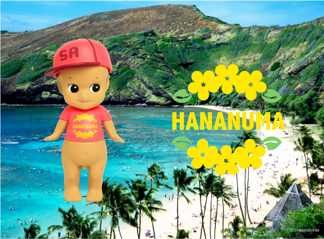 sonny angel_beach serie_hawaii_hananuma