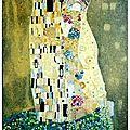 Le baiser de Klimt - 41 x 33 - juin 2003