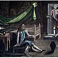 19 novembre 1703. mort à la bastille de l'homme au masque de fer.