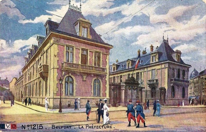 Belfort CPA LVC 1215 Préfecture