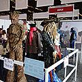 Expo costumes - Groot et Davy Jones