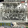 Bitche 1981 : la page du cuirassier paul foulon 1981/82.