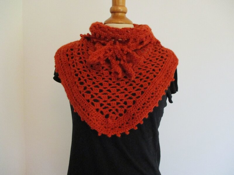 Cow-girl Crochet Orange (6)