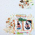 [ famille à la montagne ] - sketch#356 just create and scrap