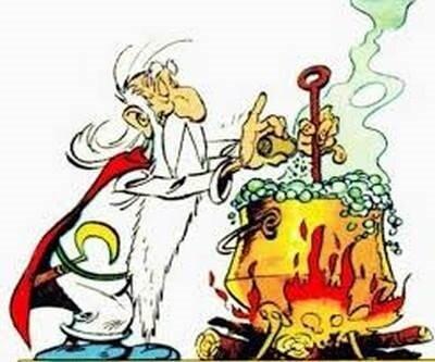 Druides potion magique
