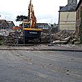 Patrimoine normand en peril/13 : alerte à granville! les vandales ont commencé la démolition du domaine classé de la horie!