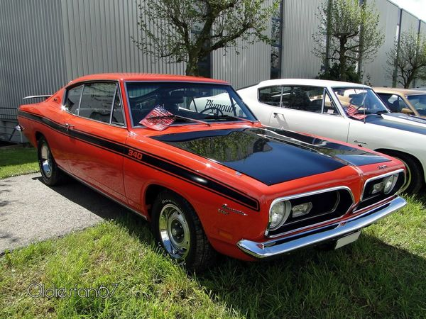 Plymouth Barracuda 340 Formula S fastback coupe 1969 c