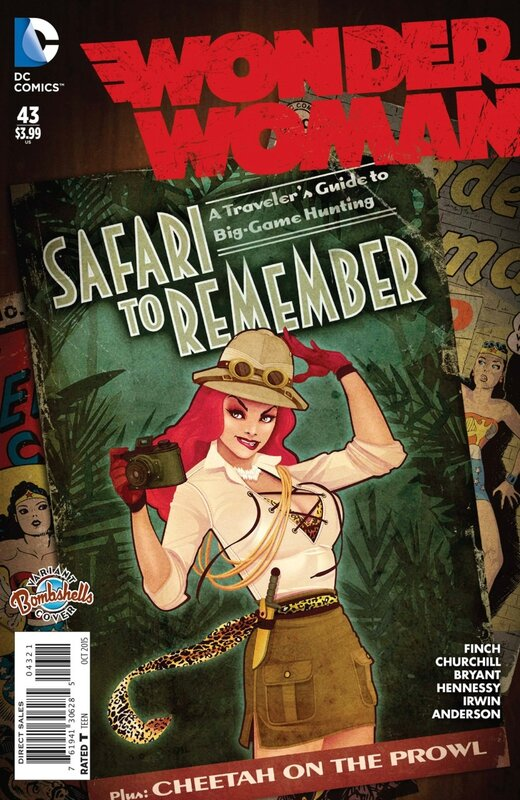 wonder woman 43 bombshell variant