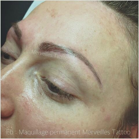 Maquillage permanent des sourcils By Vanessa