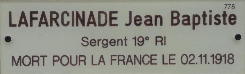 LAFARCINADE Jean Baptiste de Feusines (1) (Large)