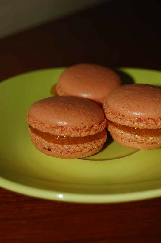 macarons clementine