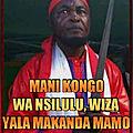 Ne mavuemba nkosi s'adresse aux baluba !