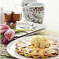 Gâteau pommes et ricotta et citron.....