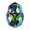 im-Scarab-bead-Swarovski-5728-12-mm-Crystal-Scarabaeus-Green-2X-x1