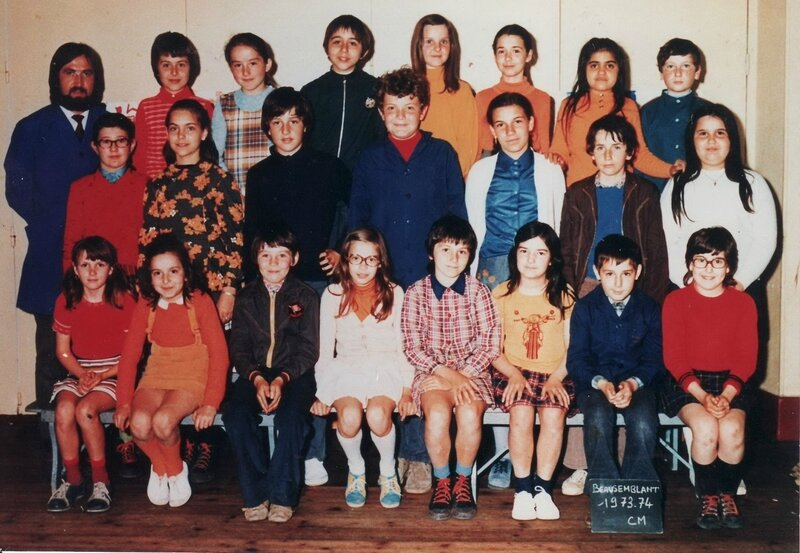 ecole beaus 73-74 red