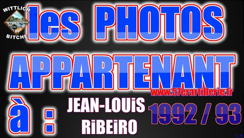les PHOTOS APPARTENANT à JEAN-LOUIS RIBEIRO