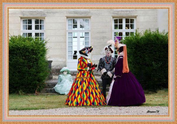 Masques Vénitiens au Mesnil-St-Denis
