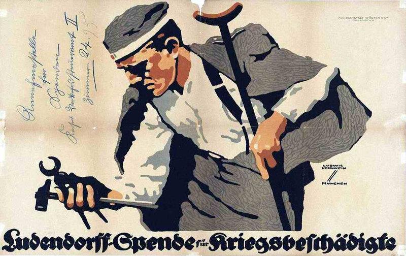 Quéte ludendorff pour les mutils de guerre