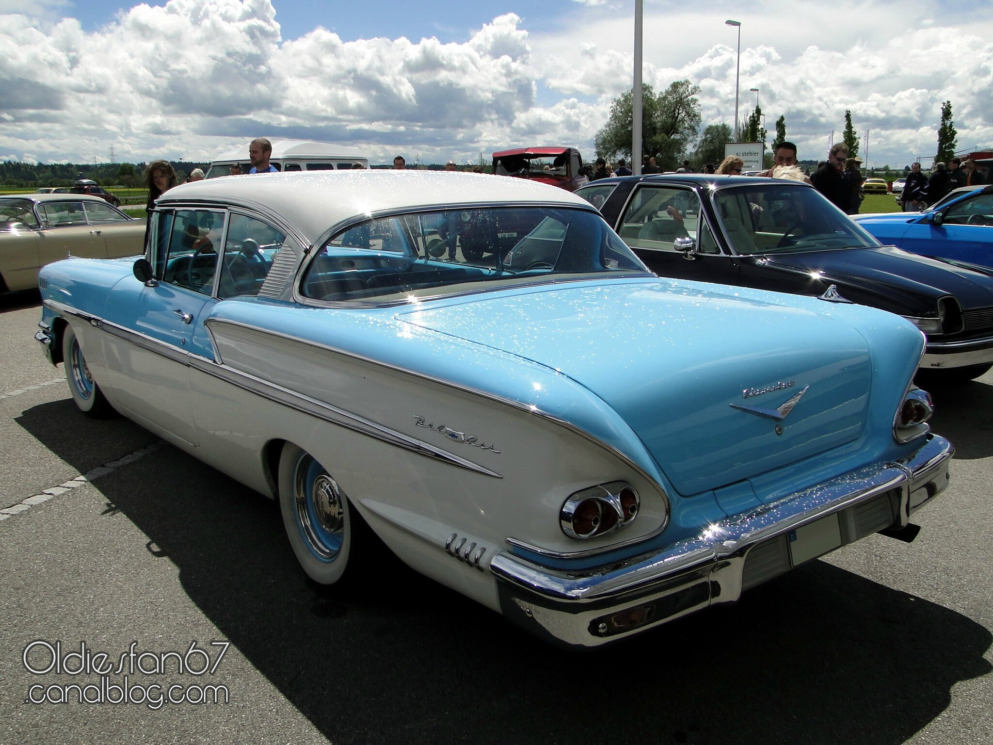 Chevrolet Bel Air Sport Hardtop Coupe 1958 Oldiesfan67