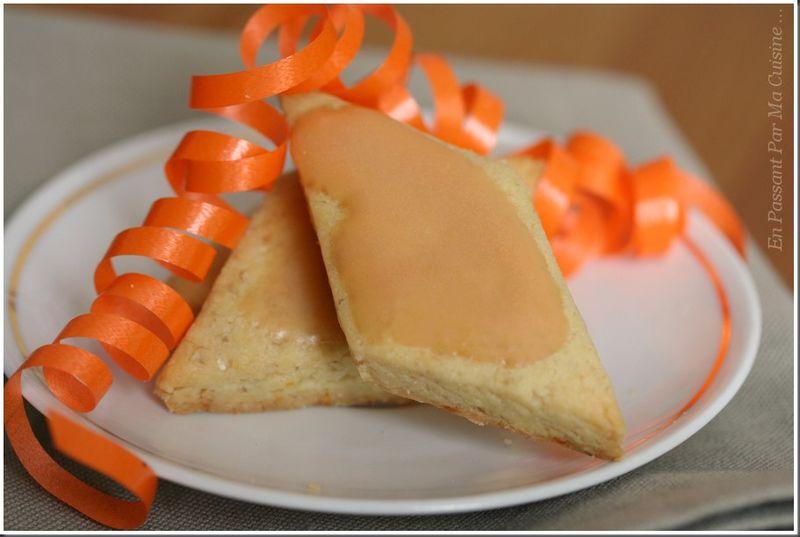 losanges aux noix et à l'orange