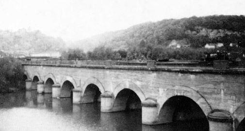 Pentecôte 1935 le pont-canal