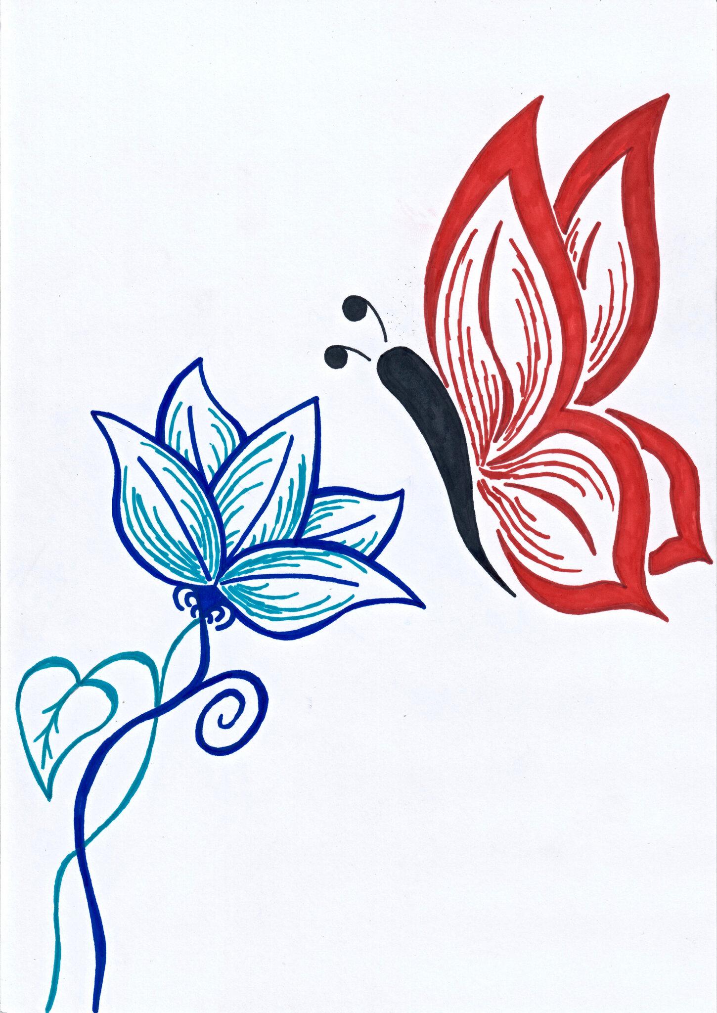 Session Dessin Le Papillon D Art Au Japon Jour Des 4 Ans