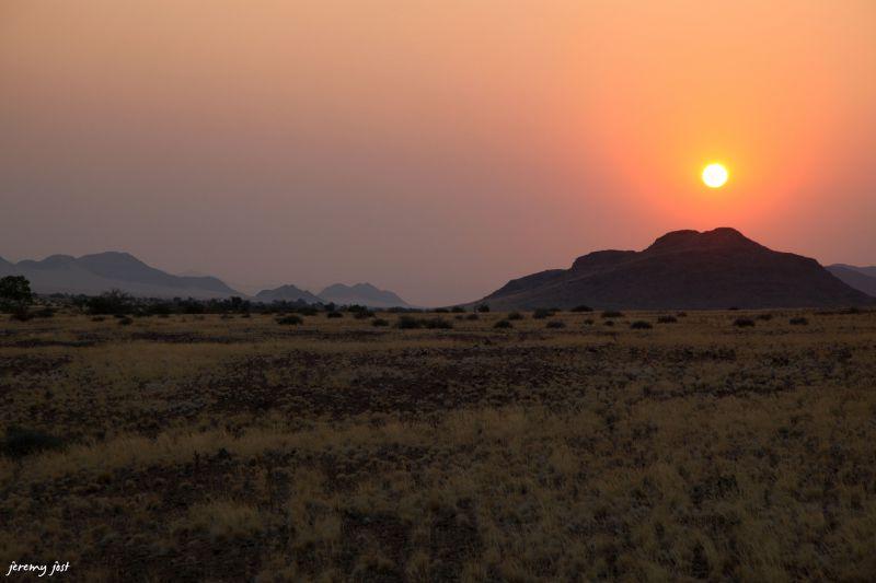 sunset kulala wilderness