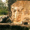 Sukhotaï ruines Bas relief