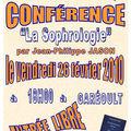 Conférence + dédicace